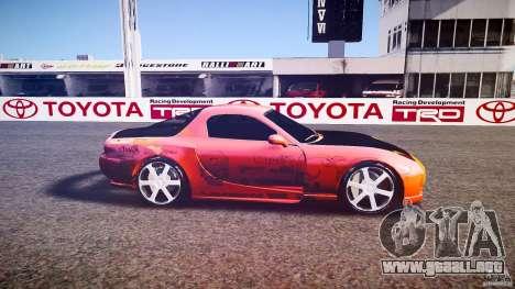 Mazda RX-7 ProStreet Style para GTA 4 left