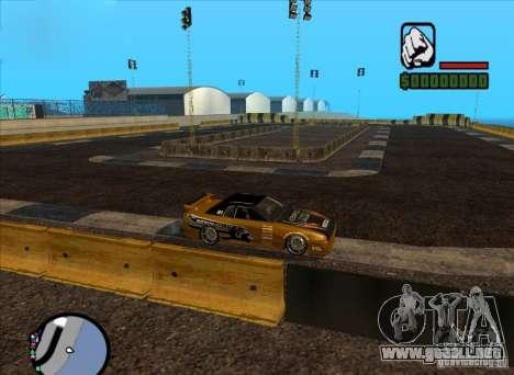 Nueva pista para deriva para GTA San Andreas segunda pantalla