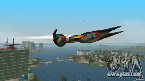 VX 574 Falcon para GTA Vice City left
