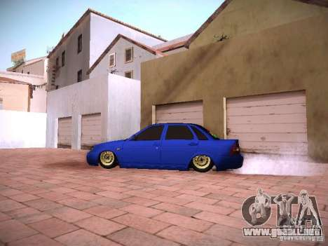 VAZ 2170 Lada Priora para GTA San Andreas left