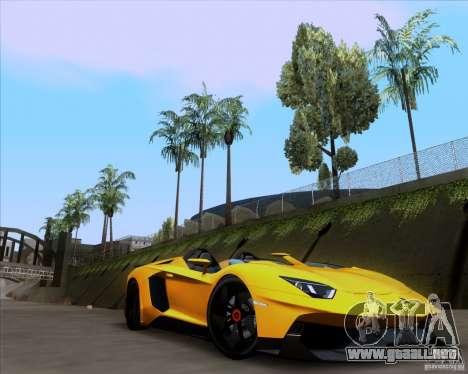 Lamborghini Aventador J TT Black Revel para la visión correcta GTA San Andreas