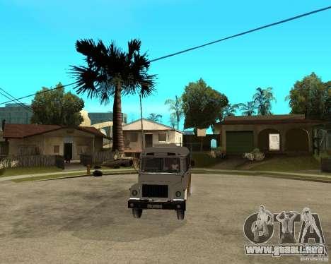 Pequeño KAVZ-39765 para visión interna GTA San Andreas