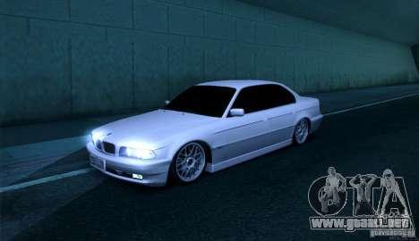 BMW 750i para GTA San Andreas
