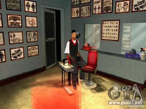 Arreglar animaciones faciales para GTA San Andreas tercera pantalla
