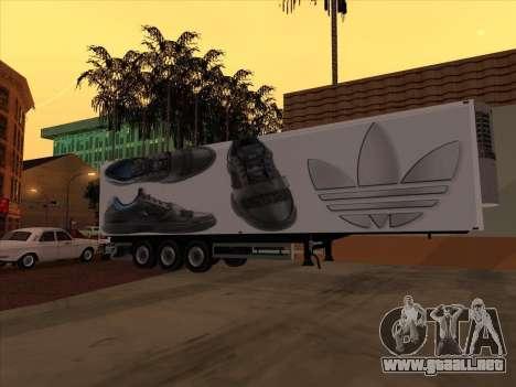 Remolque Adidas para visión interna GTA San Andreas