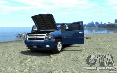 Chevrolet Silverado 2008 para GTA 4 vista interior