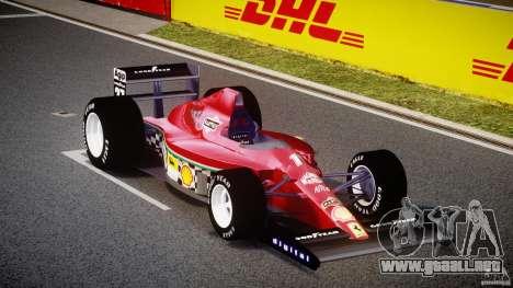 Ferrari Formula 1 para GTA 4 vista hacia atrás