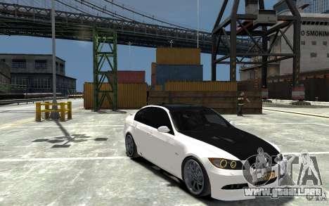 BMW 330i E60 Tuned 1 para GTA 4 vista hacia atrás