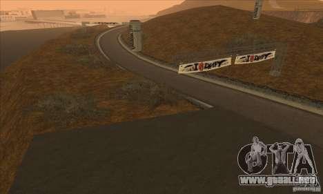 La ruta de NFS Prostreet para GTA San Andreas tercera pantalla