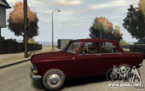 412 AZLK Moskvich para GTA 4 left