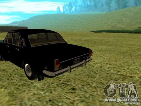 Volga GAZ-24 01 para GTA San Andreas left