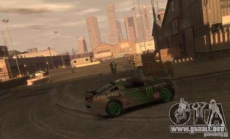 Ford Mustang Monster Energy 2012 para GTA 4 left