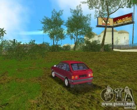 Lada Samara para GTA Vice City vista lateral izquierdo