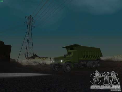 KrAZ-256b1-030 para vista inferior GTA San Andreas
