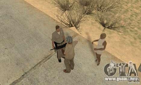 Hipnosis en San Andreas para GTA San Andreas octavo de pantalla