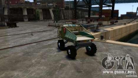 UAZ Goliat prototipo para GTA 4 visión correcta