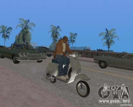 Vespa N-50 para la visión correcta GTA San Andreas