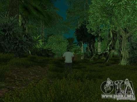Isla tropical para GTA San Andreas novena de pantalla