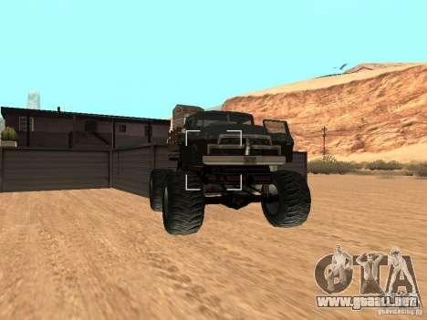 Walton Monster para la visión correcta GTA San Andreas