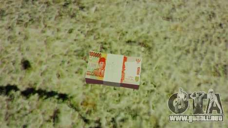 Indonesia dinero para GTA 4