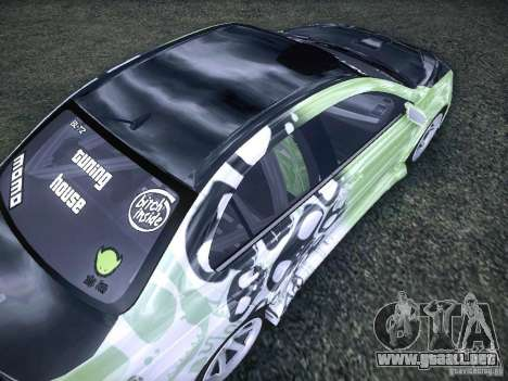 Mitsubishi Lancer Evolution X - Tuning para vista lateral GTA San Andreas