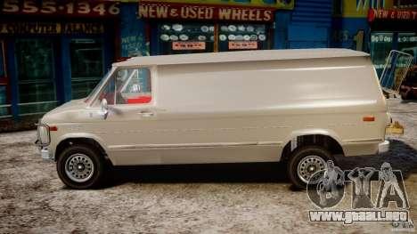 Chevrolet G20 Vans V1.1 para GTA 4 left