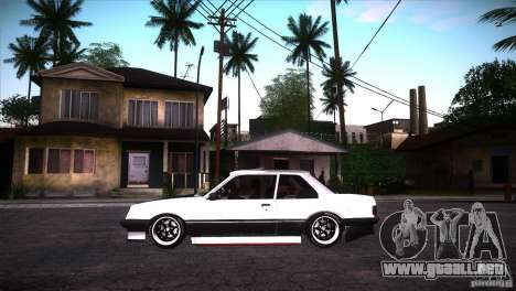 Opel Ascona Tuning Edition para GTA San Andreas left