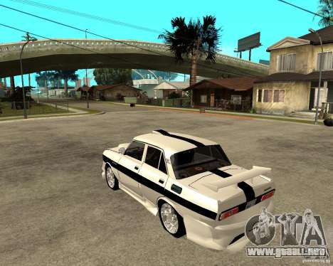 AZLK 2140 Underground para GTA San Andreas left