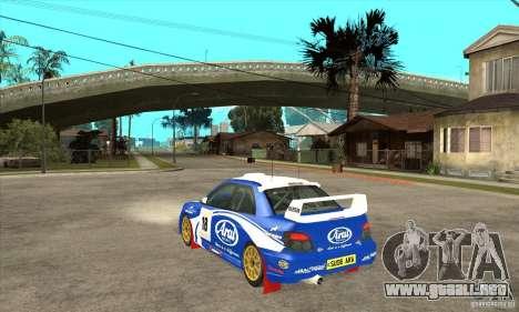 Subaru Impreza STi WRC wht1 para la visión correcta GTA San Andreas