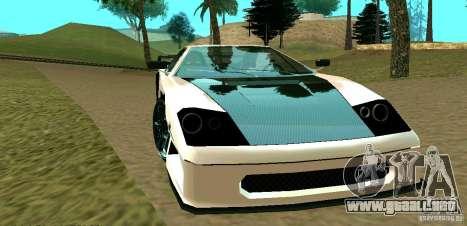 New Turismo para vista lateral GTA San Andreas