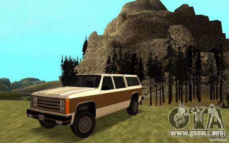 Un ranchero del FBI civil para GTA San Andreas