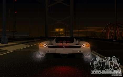 Ferrari Enzo ImVehFt para la vista superior GTA San Andreas