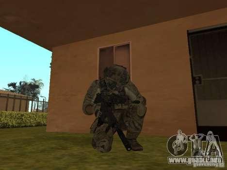M4A1 con ACOG de CoD MW3 para GTA San Andreas segunda pantalla