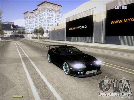 Toyota Supra v2 (MyGame Drift Team) para GTA San Andreas