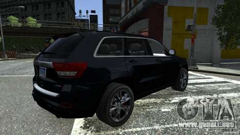 Jeep Grand Cherokee STR8 2012 para GTA 4 left