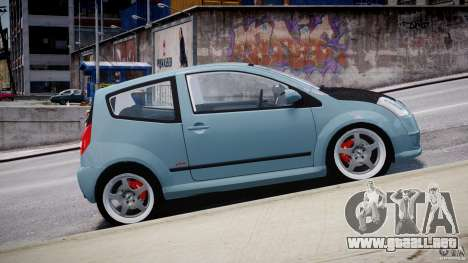Citroen C2 Light Tuning [Beta] para GTA 4 left