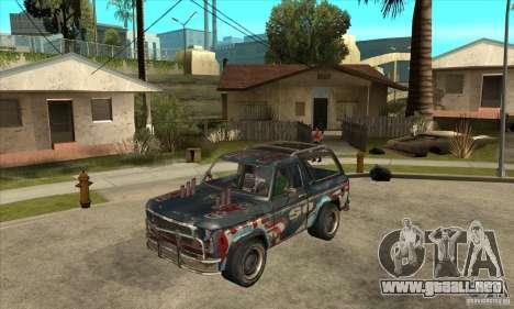 Blaster XL from FlatOut2 para GTA San Andreas