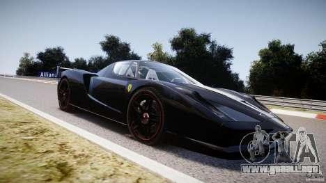 Ferrari FXX para GTA 4 vista desde abajo