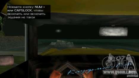 Vista desde la cabina para GTA Vice City sexta pantalla