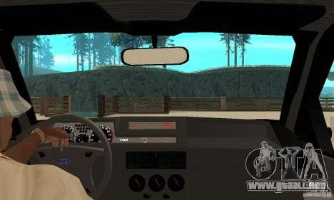 Fiat Tipo 2.0 16V 1995 para la visión correcta GTA San Andreas