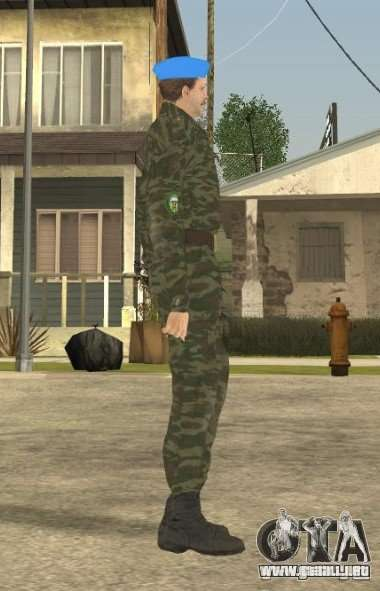 VDVšnik para GTA San Andreas segunda pantalla
