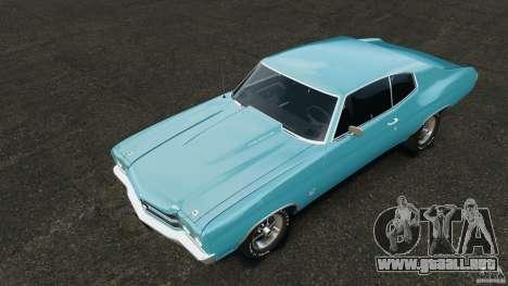Chevrolet Chevelle SS 1970 v1.0 para GTA 4