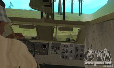 BRDM-1 piel 2 para visión interna GTA San Andreas
