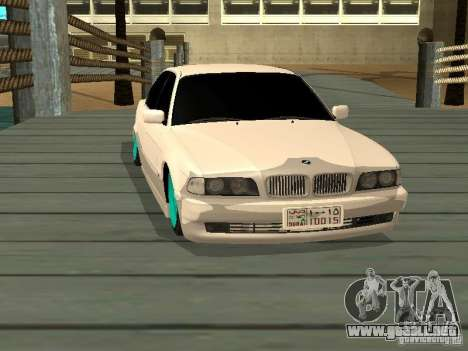 BMW 750i JDM para la visión correcta GTA San Andreas