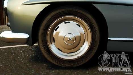 Mercedes-Benz 300 SL GullWing 1954 v2.0 para GTA 4 vista interior