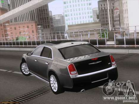 Chrysler 300 Limited 2013 para visión interna GTA San Andreas