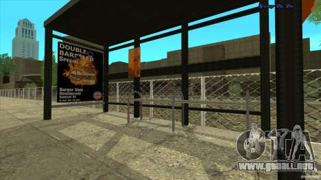 Paradas de autobús en HD para GTA San Andreas