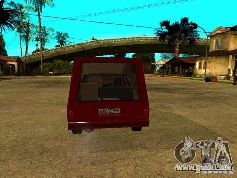 AZLK 2901 para la visión correcta GTA San Andreas
