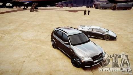BMW X5M 2011 para GTA 4 vista lateral