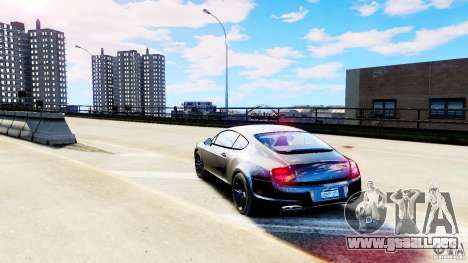 Bentley Continental SuperSports v2.5 para GTA 4 Vista posterior izquierda